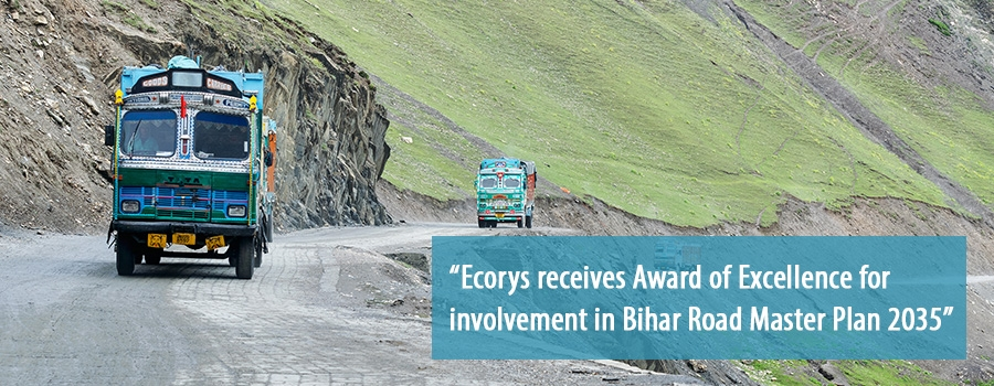 Ecorys wins Award of Excellence for transport work in India