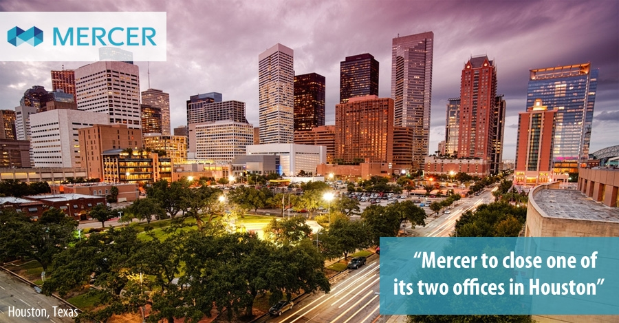 Mercer office in Houston, Texas