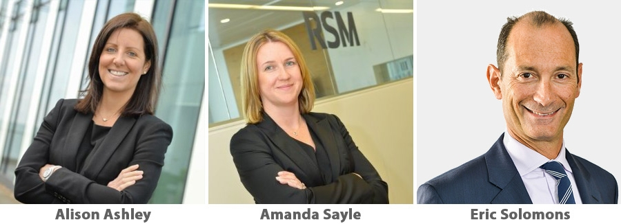 Alison Ashley, Amanda Sayle, Eric Solomons - RSM