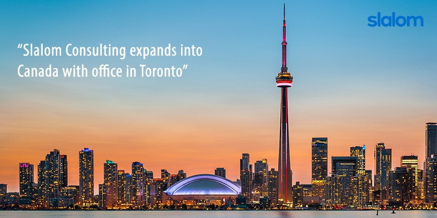 Slalom Consulting opens office in Toronto