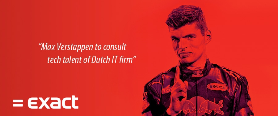 Max Verstappen to consult tech talent of Dutch IT firm
