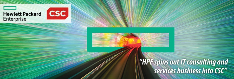 HPE spins out IT consulting and services business into CSC