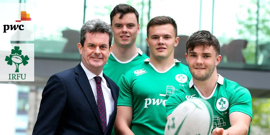 Irish rugby a perfect fit for PwC, Big Four extends sponsor deal
