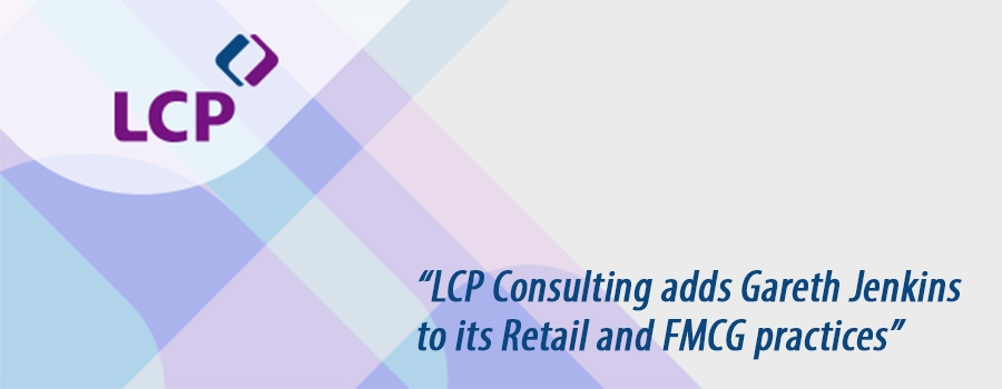 LCP Consulting adds Gareth Jenkins to Retail and FMCG practices