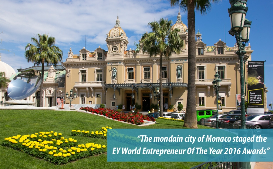 EY World Entrepreneur Of The Year 2016 in Monaco