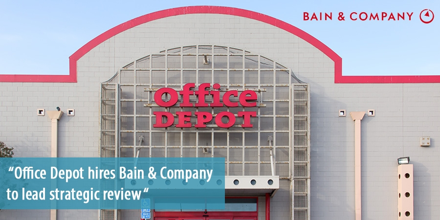 office depot strategic management Troy rice was appointed president of office depot's retail division and will  manage the strategic direction of the company's stores and oversee.