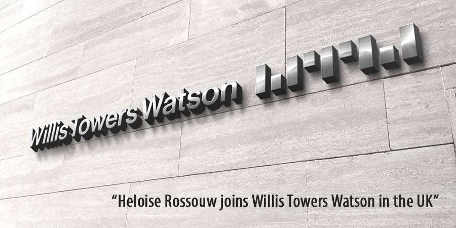 Heloise Rossouw joins Willis Towers Watson in the UK