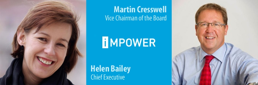 Helen Bailey succeeds Martin Cresswell as iMPOWER Chief Executive
