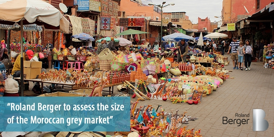 Roland Berger assesses size of the Moroccan informal economy