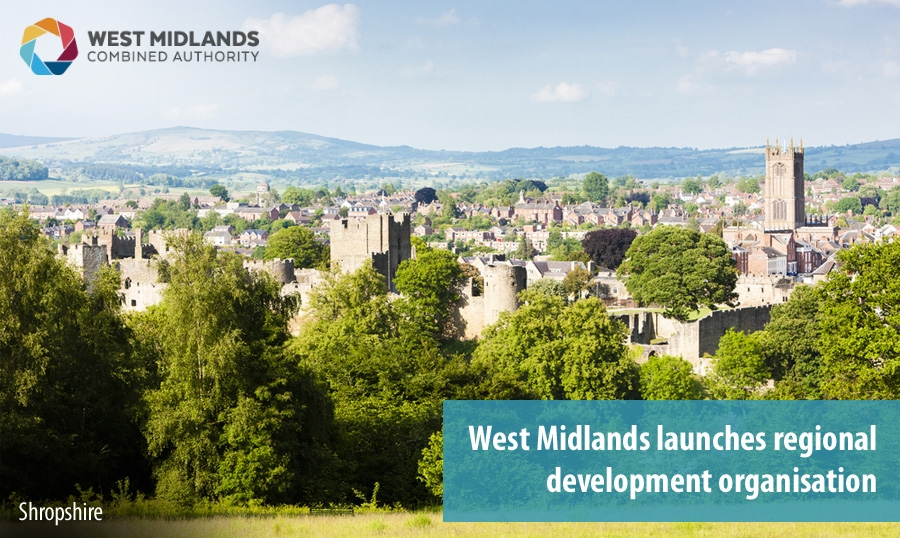 West Midlands launches regional development organisation