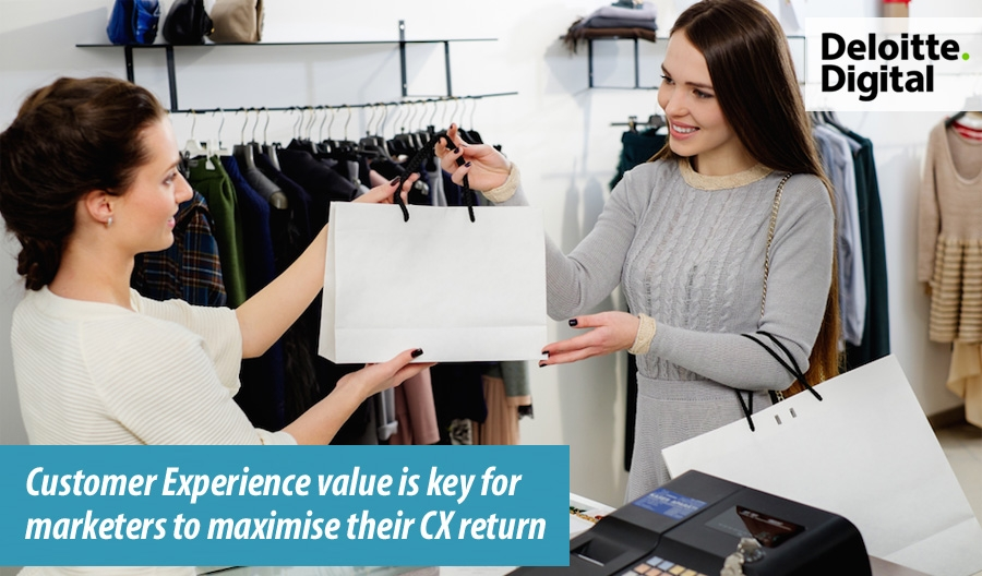 Customer Experience value key for marketers to maximise CX return