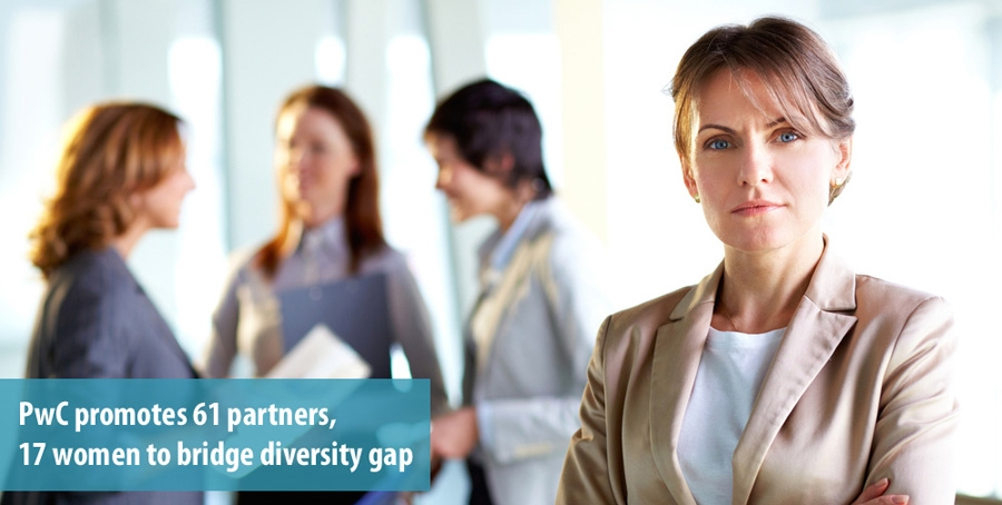 PwC promotes 61 partners, 17 women