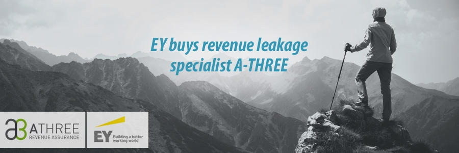 EY buys revenue leakage specialist A-THREE