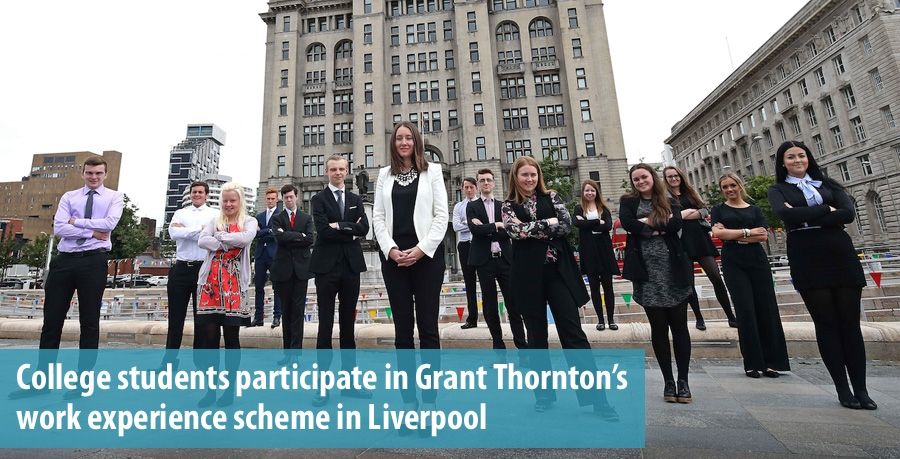Grant Thornton work experience scheme in Liverpool