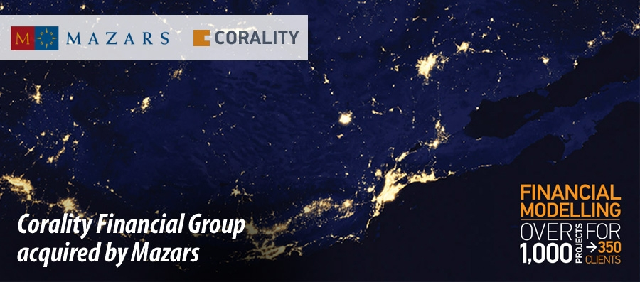 Mazars acquires Corality Financial Group