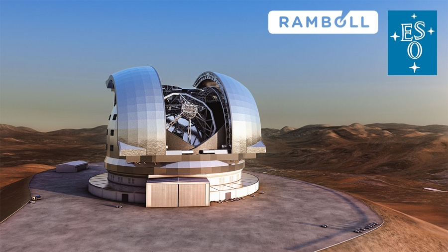 Ramboll hired by European Southern Observatory to support mirror logistics