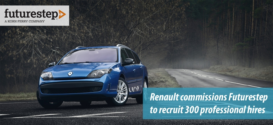 Renault commissions Futurestep to recruit 300 professional hires