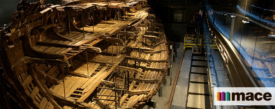 Warship Mary Rose fit-out to display at Portsmouth Historic Dockyard