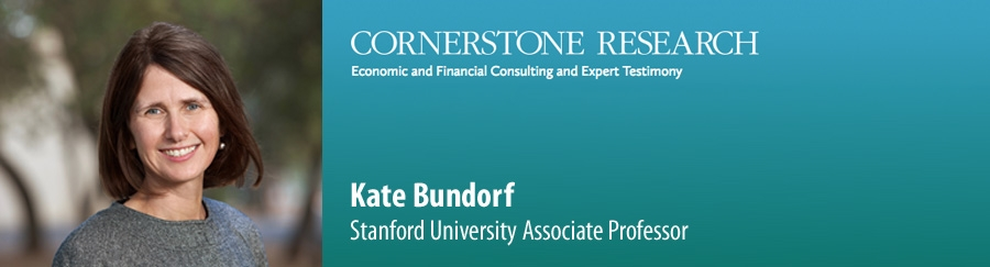 Kate Bundorf - Cornerstone Research