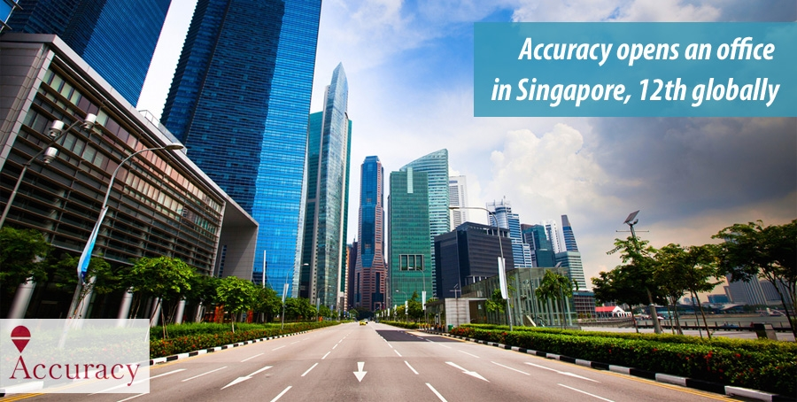 Accuracy opens an office in Singapore