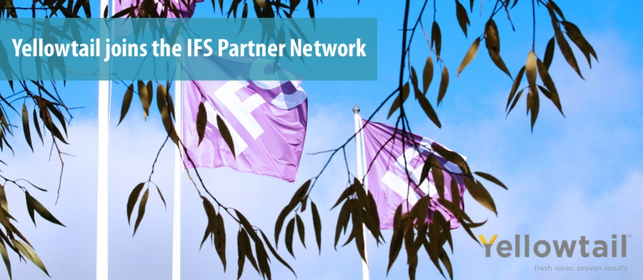 Yellowtail joins the IFS Partner Network