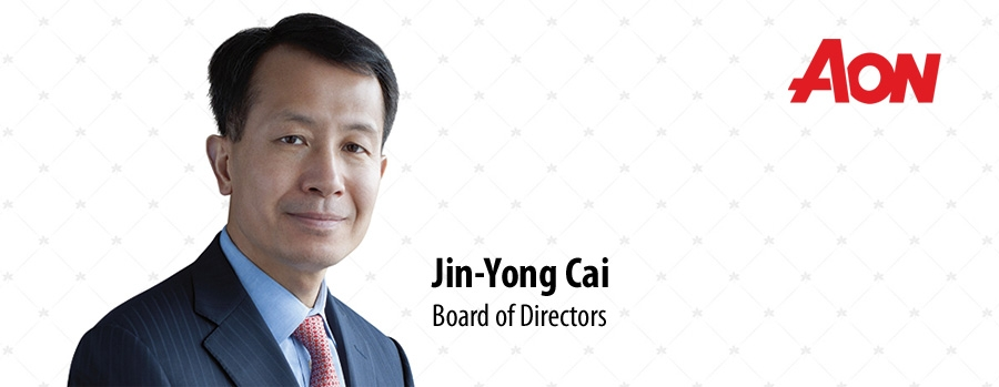Aon appoints Jin-Yong Cai to its Board of Directors