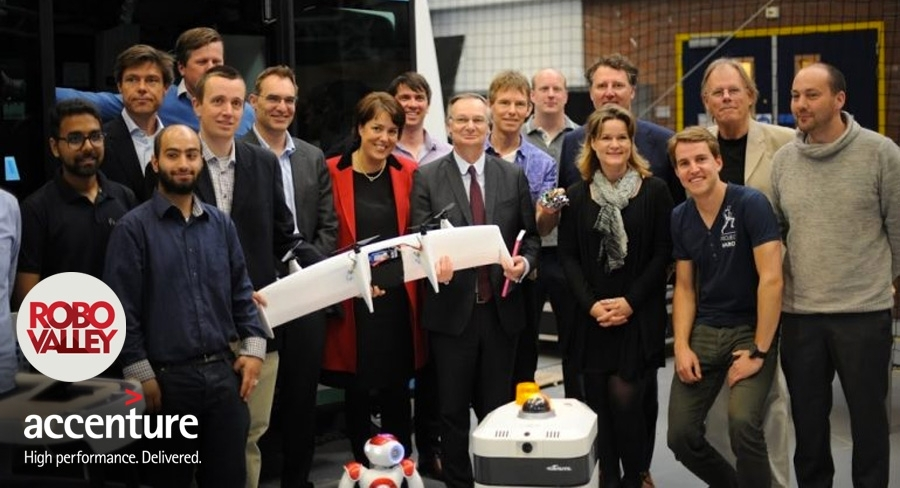 Accenture invests 500,000 in Robovalley, innovation hub for robotics