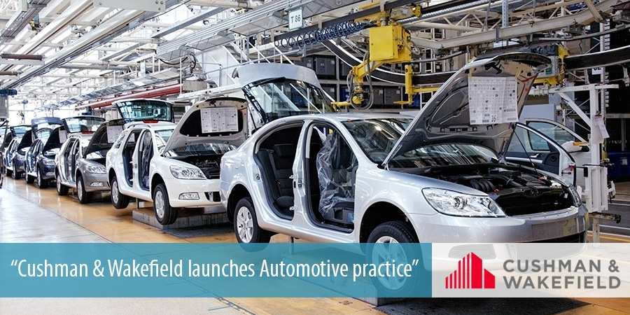 Cushman & Wakefield launches Automotive practice