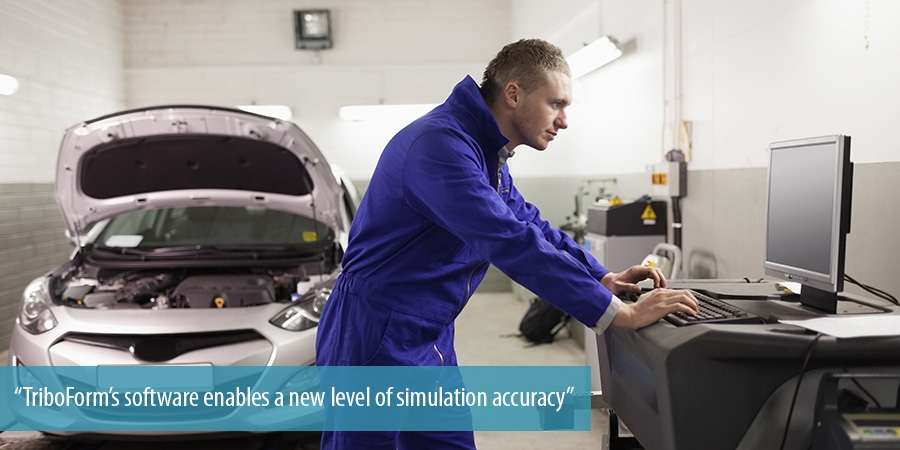 TriboForm's software enables a new level of simulation accuracy