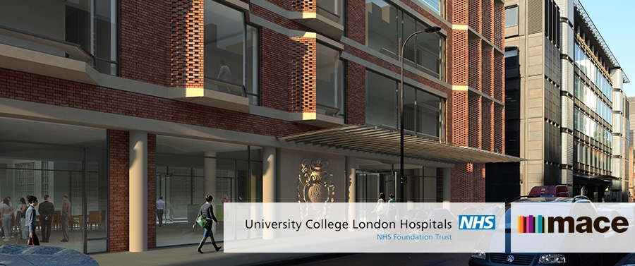 UCLH hires Mace to deliver new state-of-art centre for TNE and dentistry