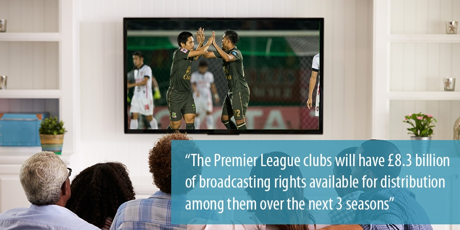 The Premier League on TV