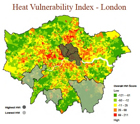 Heat Vulnerability Index