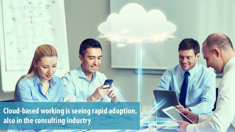 Cloud-based working in the consulting industry