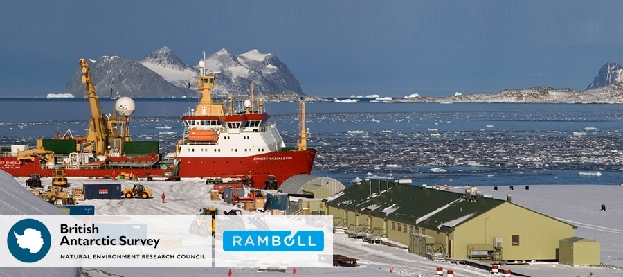 British Antarctic Survey hires Ramboll for Antarctic technical consultancy