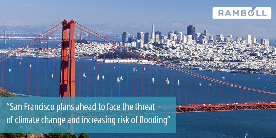 San Francisco hires Ramboll to develop climate change response