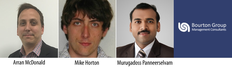 Arran McDonald - Mike Horton - Murugadoss Panneerselvam - Bourton Group