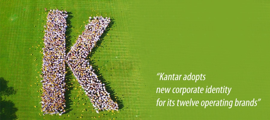 Kantar adopts new corporate identity for its twelve operating brands