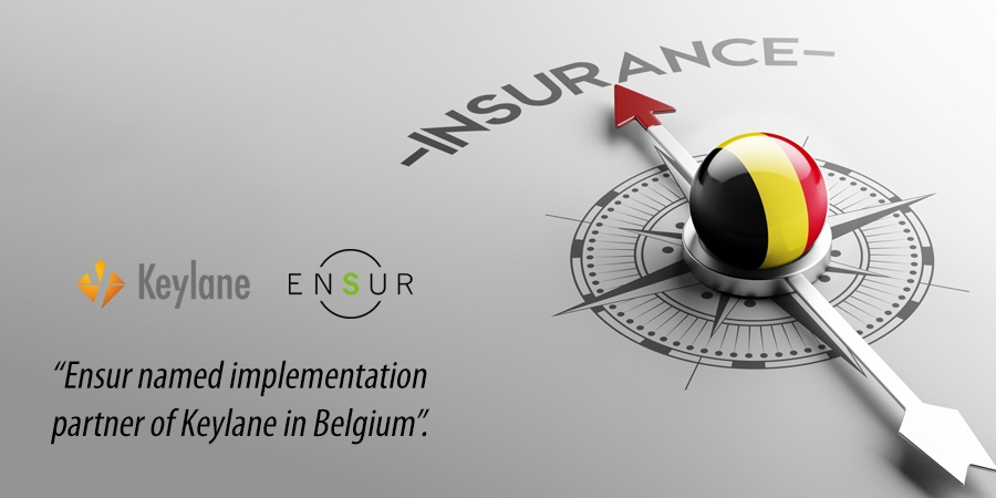 Ensur named implementation partner of Keylane in Belgium