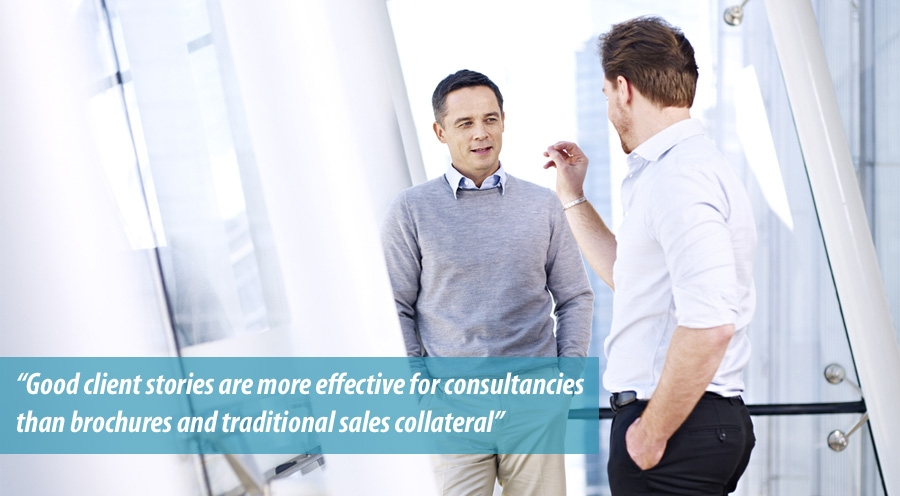 Good client stories effective for consultancies