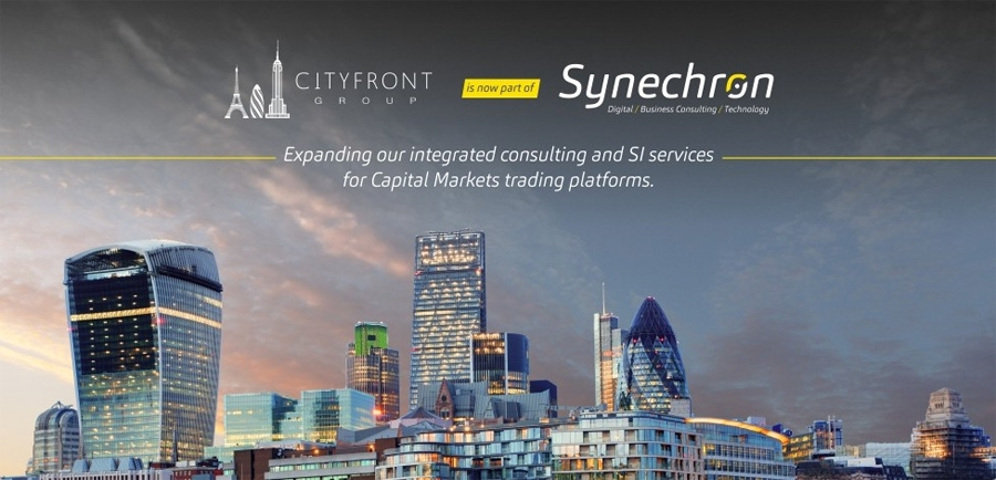 Synechron acquires Cityfront Group