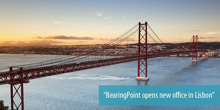 BearingPoint opens new office in Lisbon