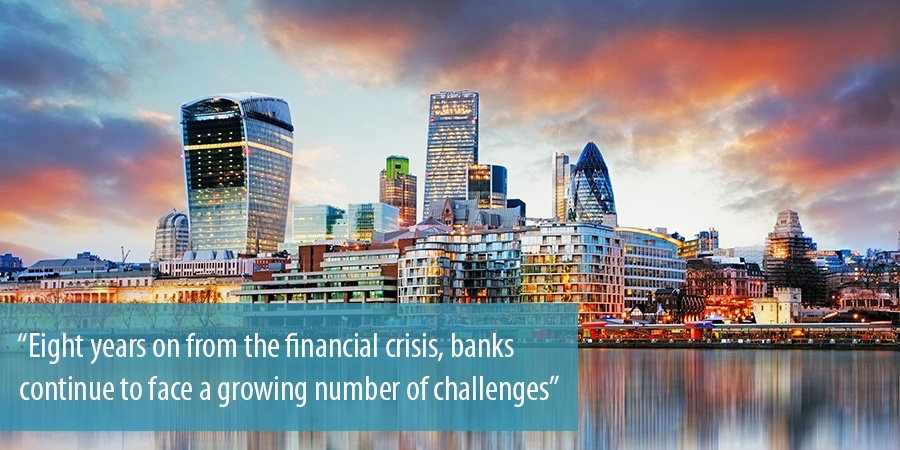 Banks continue to face a growing number of challenges