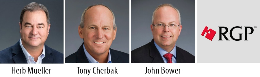 RGP promotes Herb Mueller and John Bower to Board roles