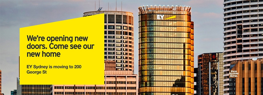 EY Sidney is moving to 200 George St
