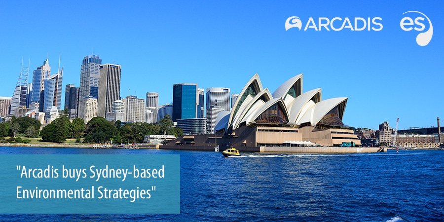 Arcadis buys Sydney-based Environmental Strategies