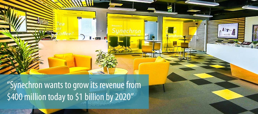 Synechron wants to grow its revenue