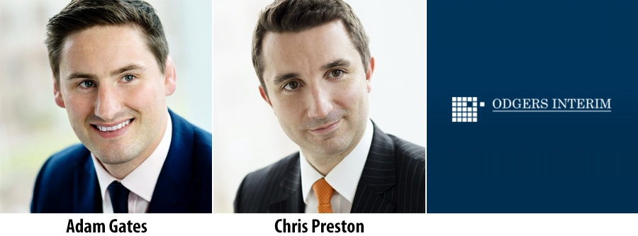 Adam Gates and Chris Preston - Odgers Interim