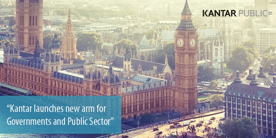 Kantar launches new arm for Governments and Public Sector