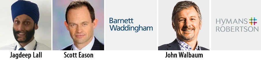 Barnett Waddingham and Hymans Robertson add senior consultants