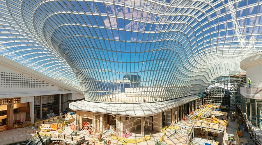 Chadstone Shopping Centre in Melbourne opens